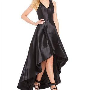 Taffeta Tulip Hi-Low Dress